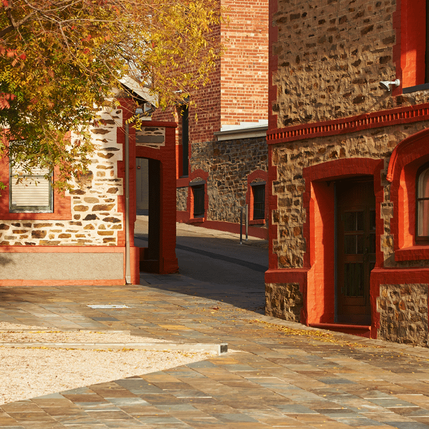 Heritage brick buildings of Magill Estate Winery