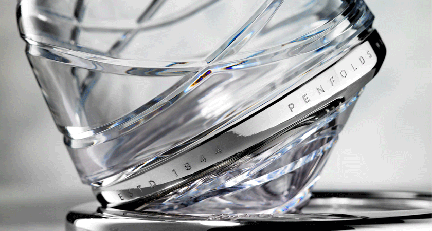 Close up of crystal detail