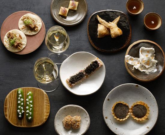 Magill Estate Restaurant tasting plates