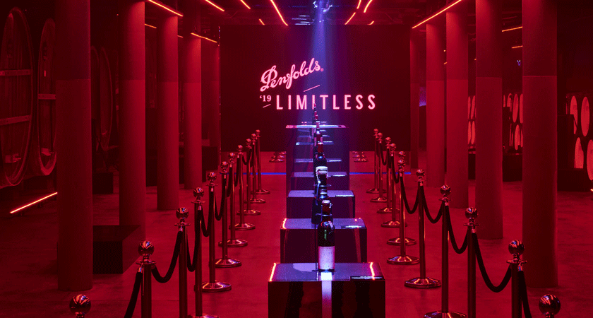 Entrance to Penfolds 175th event