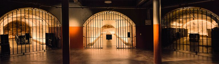 The underground tunnels to Penfolds Magill Estate