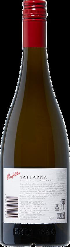 2016 Penfolds Bin 144 Yattarna Chardonnay South Australia Back