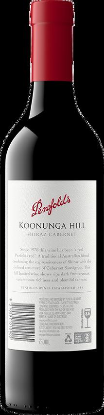 2018 Penfolds Koonunga Hill Shiraz Back