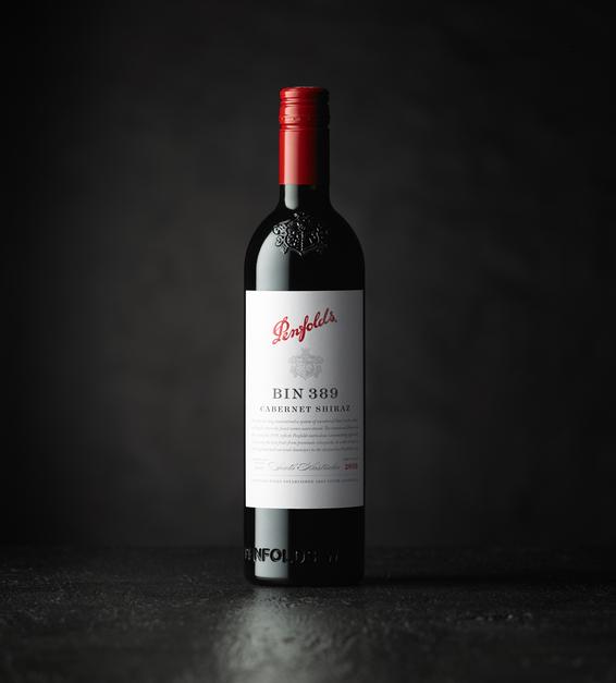 Penfolds 2018 Bin 389 Bottle Beauty Image