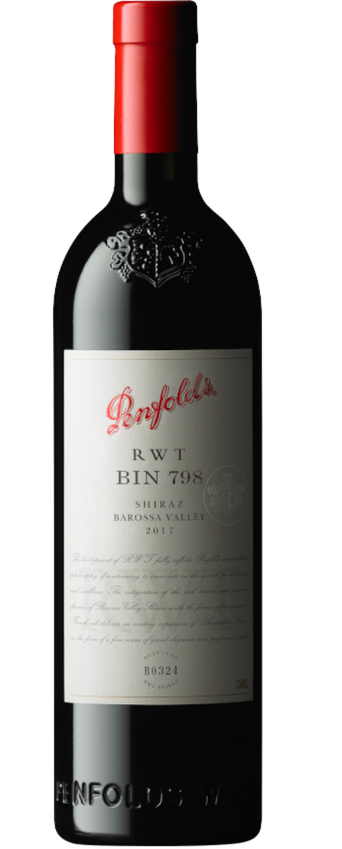 2017 Penfolds Bin 798 'RWT' Barossa Valley Shiraz Bottle