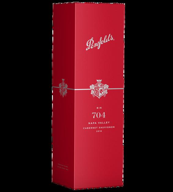 2018 Penfolds Bin 704 Cabernet Sauvignon Gift Box