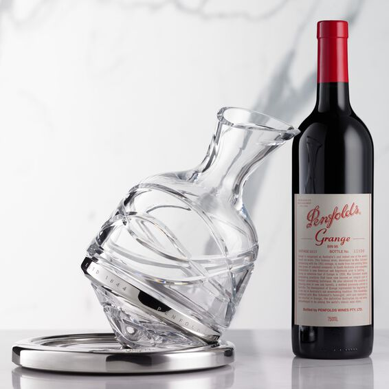 2013 Penfolds Grange Decanter and bottle