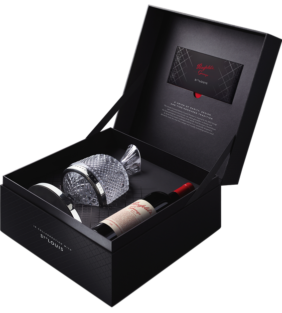 2012 Penfolds Grange with Saint Louis Decanter in Gift Box