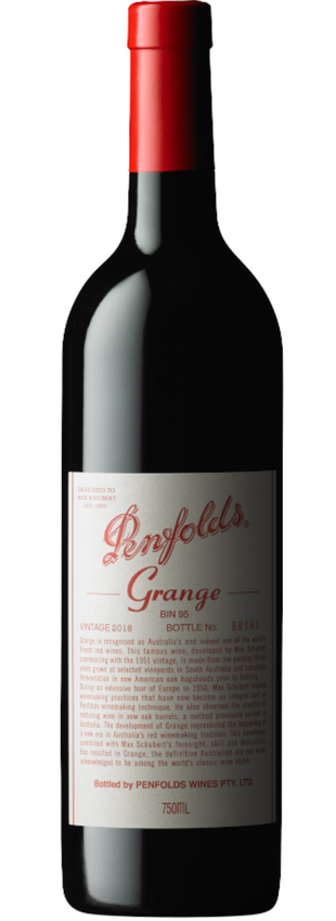 2016 Penfolds Grange bottle