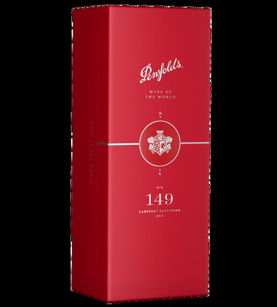 Penfolds 2018 Bin 149 Cabernet Sauvignon Gift Box