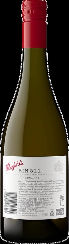 2018 Penfolds Bin 311 South Australia Chardonnay Back