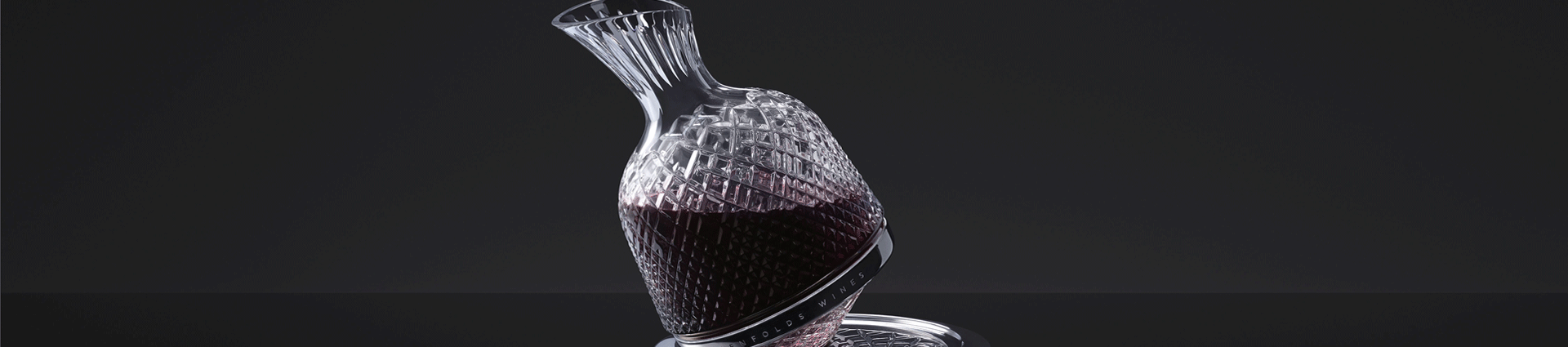 Saint Louis x Penfolds crystal decanter