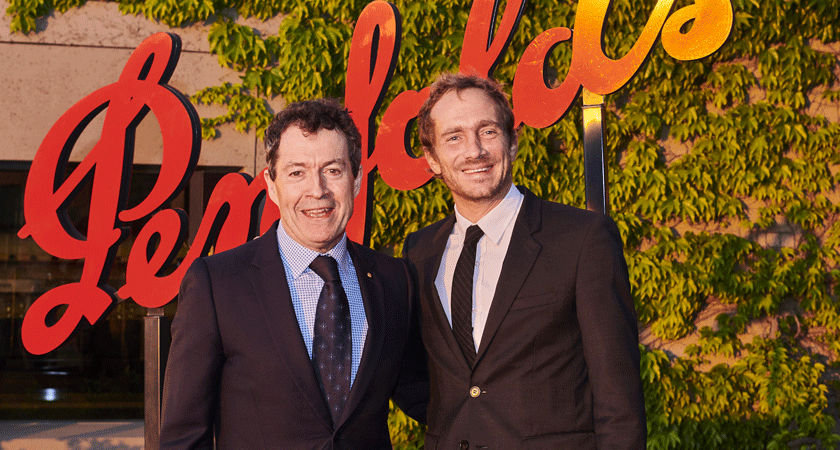 Peter Gago, Penfolds Chief Winemaker and Stanislas Thienot