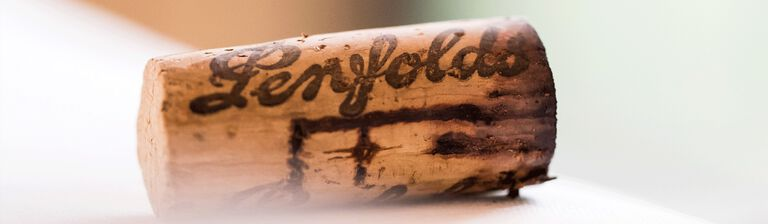 Aged Penfolds cork