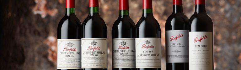 Bin 389 Cabernet Shiraz bottles