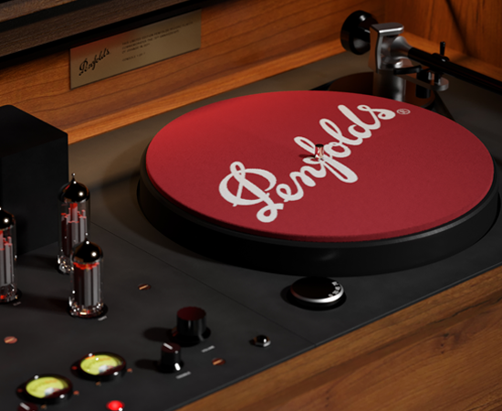 Grange record player console