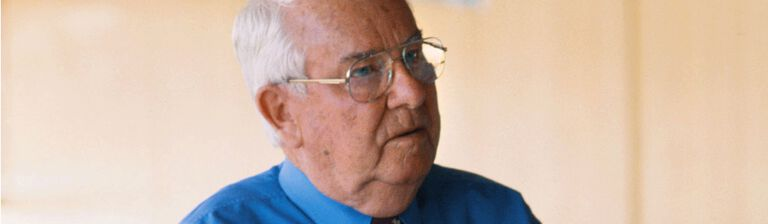 Close up photo of Dot Ditter, Penfolds former Chief Winemaker