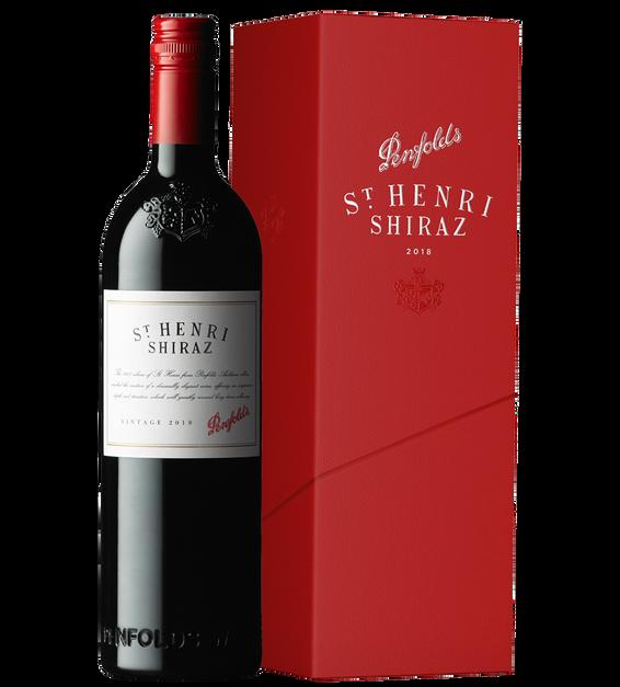 St Henri Shiraz 2018 Gift Box