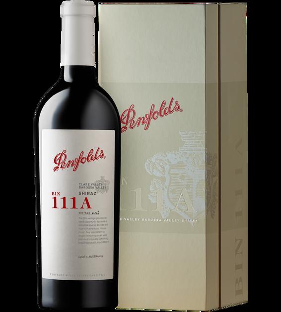 Bin 111A Clare Valley Barossa Valley Shiraz 2016 Gift Box