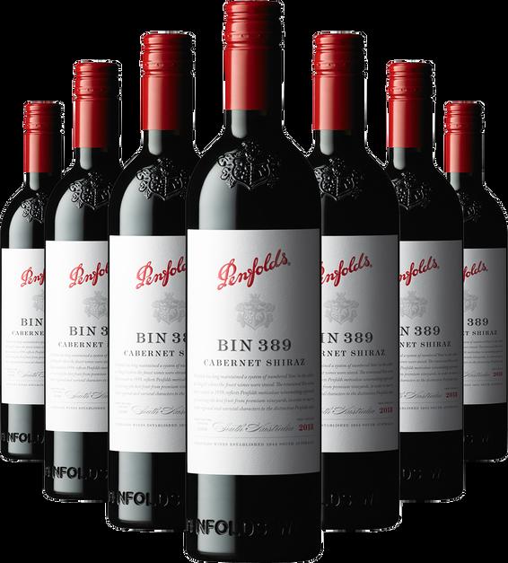 Bin 389 Cabernet Shiraz 2018 Bundle (7 bottles)