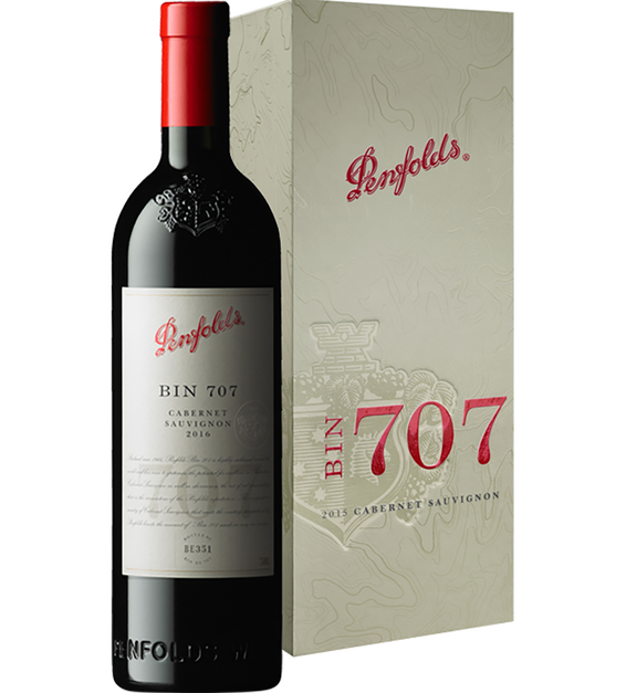 Bin 707 Cabernet Sauvignon 2016 Gift Box