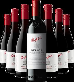 Max's Pinot Noir 2020 and Bin 389 Cabernet Shiraz 2018 Offer
